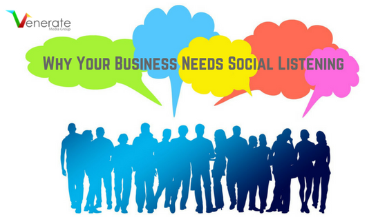 Business Needs Social Listening