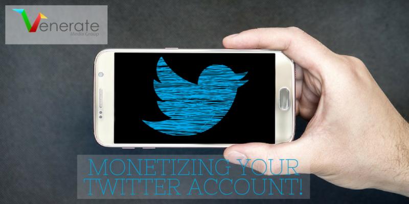 Monetizing your twitter account