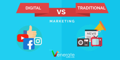 Featured image for an article called Traditional Marketing vs Digital Marketing