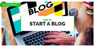 Featured image for an article called How To Start a Blog