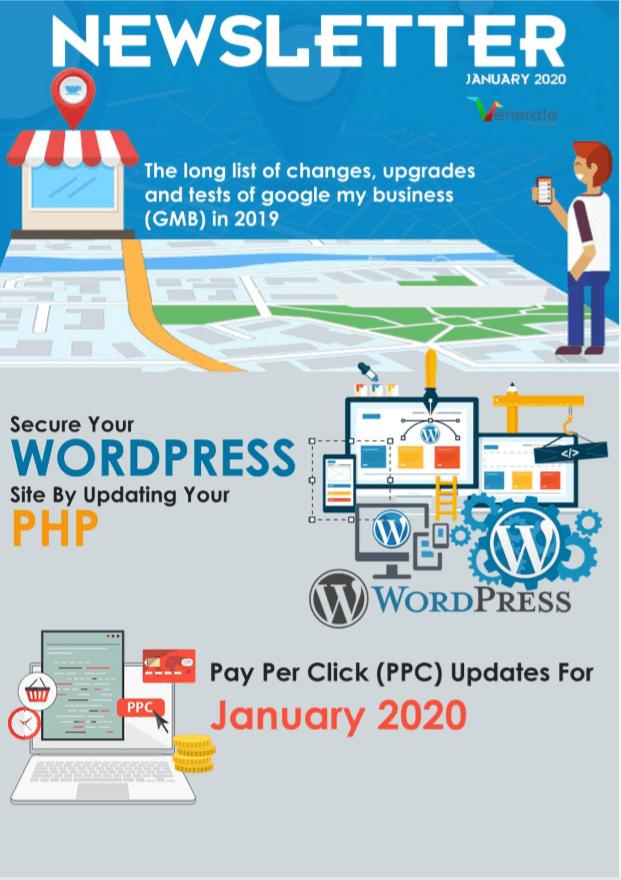 January Digital Marketing Newsletter 2020
